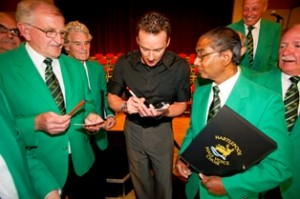 HBC - Russell Watson at Borough Hall + H'Pool Male Voice Choir -